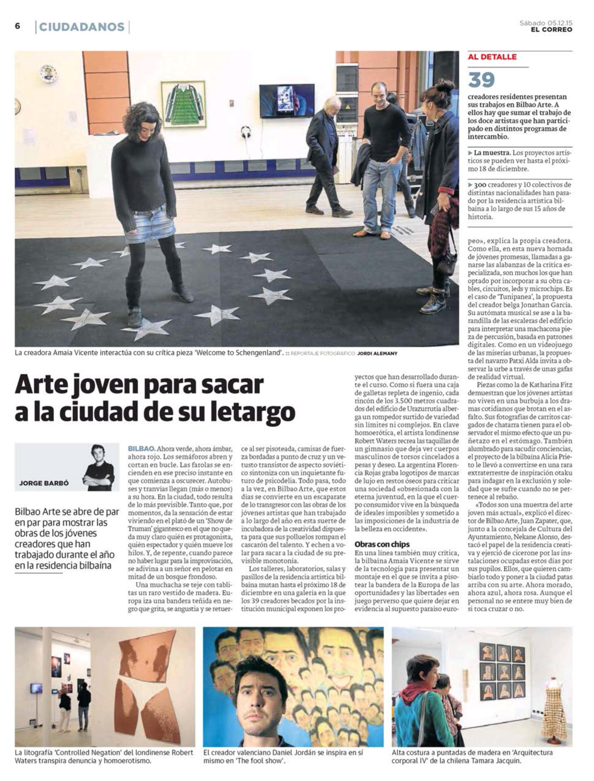 Kiosko y Más - El Correo - 5 dic. 2015 - Page #6